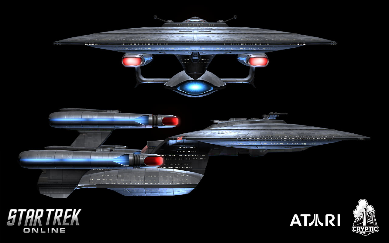 USS Federation (front/side)